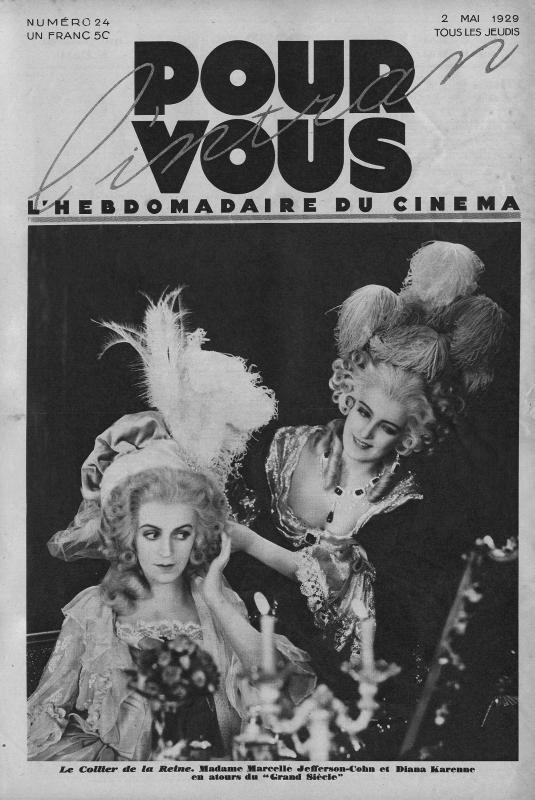 Marie-Antoinette à travers le cinéma PV24D