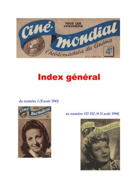 index ciné mondial